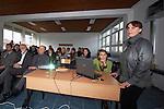 Ohrid - Macedonia - 25 October 2011 -- ETF IPA SOC Network Meeting -- Network members visit Niko Nestor Secondary Vocational School in Struga -- PHOTO: Ard JONGSMA / EUP-IMAGES