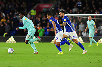 Eberechi Eze of Queens Park Rangers in action during the Sky Bet Championship match between Cardiff City and Queens Park Rangers at the Cardiff City Stadium in Cardiff, Wales, UK. Wednesday 02 October, 2019