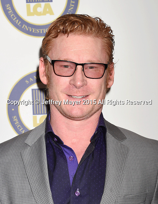 BEVERLY HILLS, CA - OCTOBER 24: Actor Zack Ward attends the Last Chance for Animals Benefit Gala at The Beverly Hilton Hotel on October 24, 2015 in Beverly Hills, California.