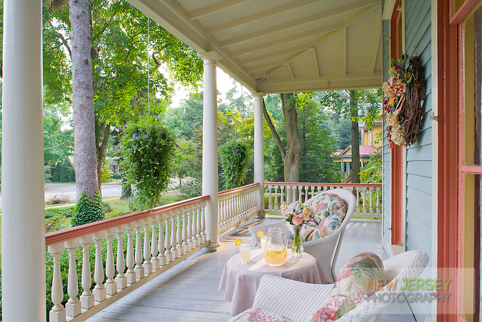 Victorian Porch, Moorestown, New Jersey
