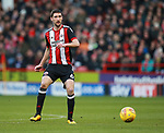 Chris Basham of Sheffield Utd during the Championship match at Bramall Lane Stadium, Sheffield. Picture date 26th December 2017. Picture credit should read: Simon Bellis/Sportimage