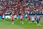 Supporters during Spain training session at Santiago Bernabeu Stadium in Madrid, Spain September 01, 2017. (ALTERPHOTOS/Borja B.Hojas)