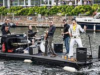 Henley Royal Regatta, Henley on Thames, Oxfordshire, 28 June - 2 July 2017.  Wednesday  14:38:39   28/06/2017  [Mandatory Credit/Intersport Images]<br /> <br /> Rowing, Henley Reach, Henley Royal Regatta.<br /> Elvis Presley lives again