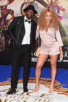 Tiggs de Author &amp; Imani at the premiere of &quot;Alice Through the Looking Glass&quot; at the Odeon Leicester Square, London.<br /> May 10, 2016  London, UK<br /> Picture: Steve Vas / Featureflash