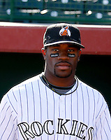Eric Young Jr. / Phoenix Desert Dogs 2008 Arizona Fall League - league leader in batting average and stolen bases..Photo by:  Bill Mitchell/Four Seam Images