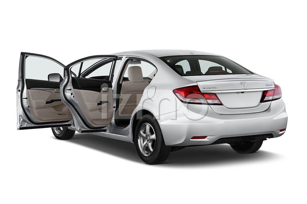 Car images close up view of a 2015 Honda Civic CNG 4 Door Sedan doors