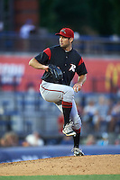 Richmond Flying Squirrels relief pitcher Christian Jones (23) during a game against the Akron RubberDucks on July 26, 2016 at Canal Park in Akron, Ohio .  Richmond defeated Akron 10-4.  (Mike Janes/Four Seam Images)