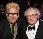 Ken Fallin and Sheldon Harnick attends the cocktail party for the Dramatists Guild Foundation 2018 dgf: gala at the Manhattan Center Ballroom on November 12, 2018 in New York City.