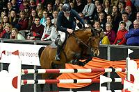 ZUIDBROEK - Paardensport, ICCH Zuidbroek, springen internationaal Grote Prijs , 05-01-2019, Albert Zoer met Florian in de barrage