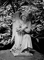 Statue of Angel in the Grotto, Portland