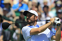 Thomas Aiken (RSA) tees off the 1st tee to start his match during Friday's Round 2 of the 117th U.S. Open Championship 2017 held at Erin Hills, Erin, Wisconsin, USA. 16th June 2017.<br /> Picture: Eoin Clarke | Golffile<br /> <br /> <br /> All photos usage must carry mandatory copyright credit (&copy; Golffile | Eoin Clarke)
