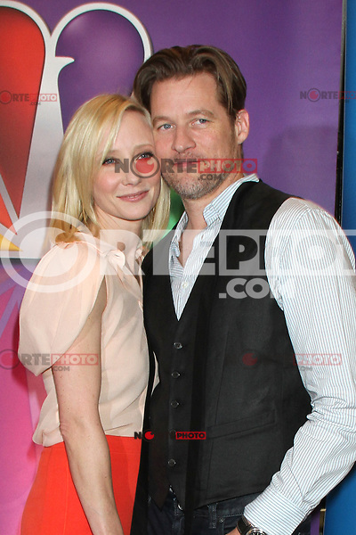 Anne Heche and James Tupper at NBC's Upfront Presentation at Radio City Music Hall on May 14, 2012 in New York City. © RW/MediaPunch Inc.