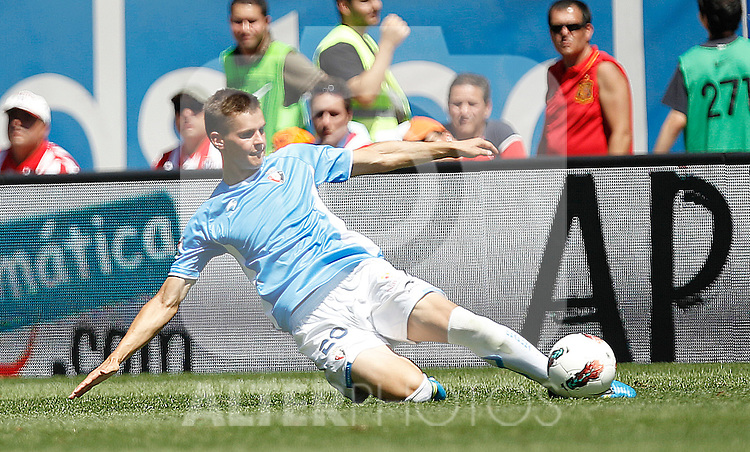 Osasuna's Jukka Raitala during La Liga match on august 28, 2011...Photo: Cesar Cebolla / ALFAQUI