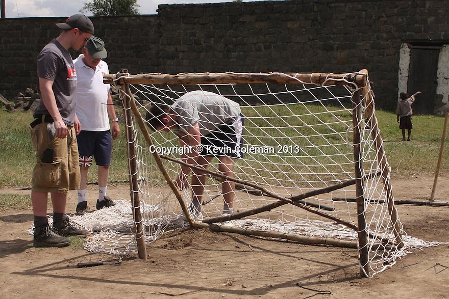 Stevenage FC Community Project, Nakuru, Kenya - 31st May, 2013<br />  © Kevin Coleman 2013