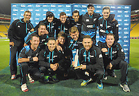 140115 International T20 Cricket - NZ Black Caps v West Indies