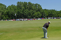 Graeme McDowell (NIR) putts up on to 1 during round 1 of the AT&amp;T Byron Nelson, Trinity Forest Golf Club, at Dallas, Texas, USA. 5/17/2018.<br /> Picture: Golffile | Ken Murray<br /> <br /> <br /> All photo usage must carry mandatory copyright credit (&copy; Golffile | Ken Murray)