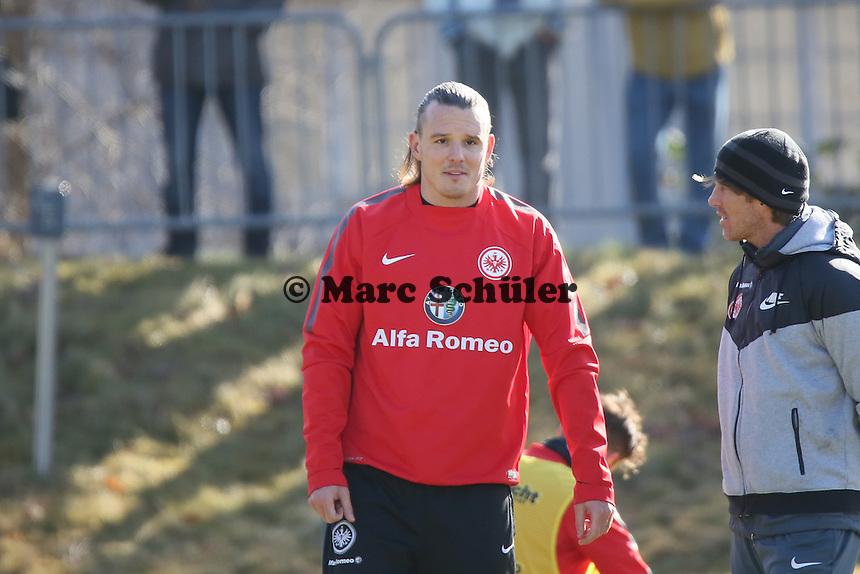 Alex Meier - Eintracht Frankfurt Training, Commerzbank Arena