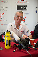 Caversham. Berkshire. UK<br /> Sir David TANNER. <br /> 2016 GBRowing European Team Announcement,  <br /> <br /> Wednesday  06/04/2016 <br /> <br /> [Mandatory Credit; Peter SPURRIER/Intersport-images]