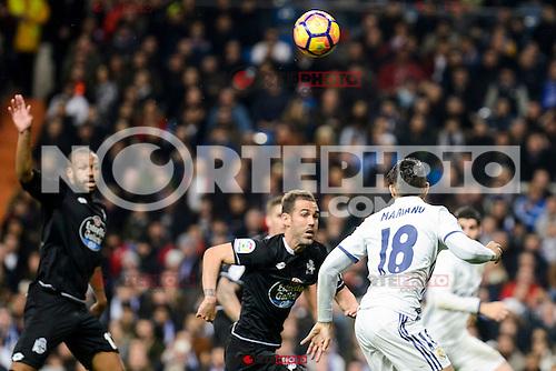 Real Madrid Mariano Diaz Mejia during La Liga match between Real Madrid and Deportivo de la Coruña at Santiago Bernabeu Stadium in Madrid, Spain. December 10, 2016. (ALTERPHOTOS/BorjaB.Hojas) /NORTEPHOTO.COM