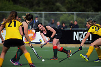 Action from the National Senior Women's Hockey Tournament 5th place playoff match between Wellington and Wairarapa at National Hockey Stadium in Wellington, New Zealand on Saturday, 23 October 2017. Photo: Dave Lintott / lintottphoto.co.nz