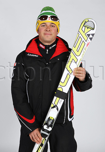 16.10.2010  Winter sports OSV Einkleidung Innsbruck Austria. Free Ski Freestyle Skiing OSV Austrian Ski Federation. Picture shows Florian Stengg AUT