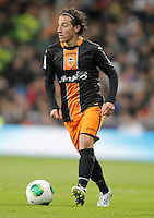 Valencia's Andres Guardado during King's Cup match. January 15, 2013. (ALTERPHOTOS/Alvaro Hernandez) /NortePhoto