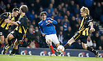 No joy for Fran Sandaza as yet another attempt thwarts the Rangers striker