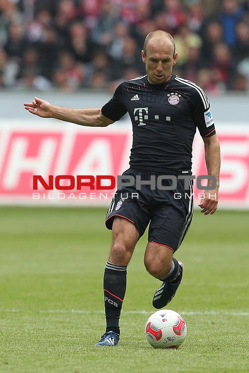 18.05.2013, Borussia Park, Moenchengladbach, GER, 1. FBL, Borussia Moenchengladbach vs FC Bayern Muenchen, im Bild<br /> Arjen Robben (Muenchen #10)<br /> <br /> Foto &not;&copy; nph / Mueller *** Local Caption ***