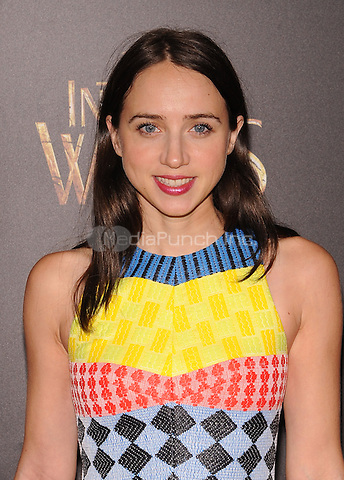 New York,NY-December 8:Zoe Kazan Attends the 'Into The Woods' world premiere at the Ziegfeld Theater on December 8, 2014. Credit: John Palmer/MediaPunch