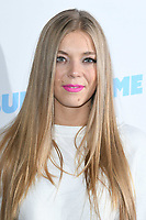 LONDON, UK. June 08, 2019: Becky Hill poses on the media line before performing at the Summertime Ball 2019 at Wembley Arena, London<br /> Picture: Steve Vas/Featureflash