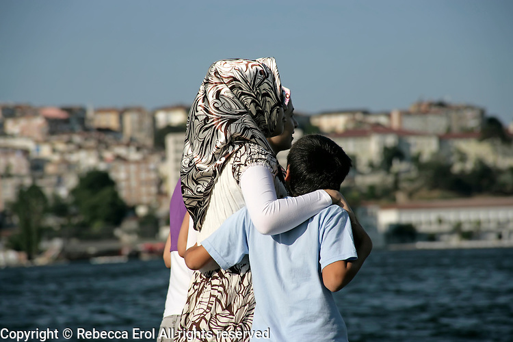 Friendship by the Golden Horn, Istanbul, Turkey