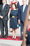 Vice president Soraya Saenz de Sanataria during state visit of the president of Argentinian Republic, Sr. Mauricio Macri and Sra Juliana Awada at Real Palace in Madrid, Spain. February 19, 2017. (ALTERPHOTOS/BorjaB.Hojas)