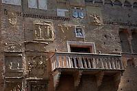 Wall facade at Padua,Italy