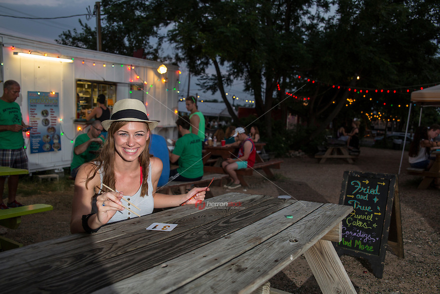 Austin's food-court trailer parks showcase the city's diverse, experimental and delicious cuisine.