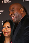 "Cookie Johnson and Magic Johnson attend the Broadway Opening Night performance for The Roundabout Theatre Company's ""A Soldier's Play""  at the American Airlines Theatre on January 21, 2020 in New York City."