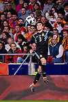 Nicolas Tagliafico of Argentina in action during the International Friendly 2018 match between Spain and Argentina at Wanda Metropolitano Stadium on 27 March 2018 in Madrid, Spain. Photo by Diego Souto / Power Sport Images