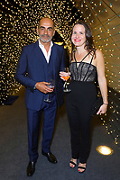 """ABC, DISNEY TV STUDIOS, FX, HULU, & NATIONAL GEOGRAPHIC 2019 EMMY AWARDS NOMINEE PARTY:  Navid Negahban and guest attend the """"ABC, Disney TV Studios, FX, Hulu & National Geographic 2019 Emmy Awards Nominee Party"""" at Otium on September 22, 2019 in Los Angeles, California. (Photo by PictureGroup/Walt Disney Television)"""