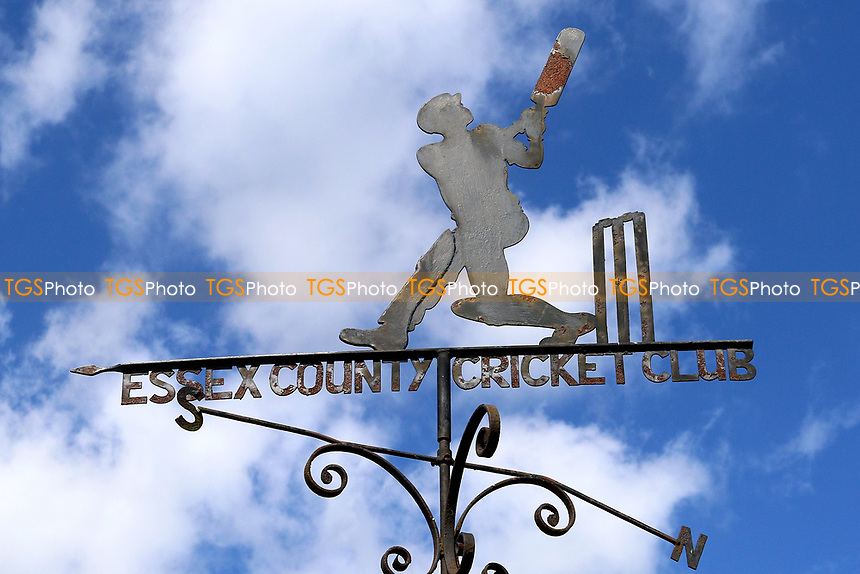 Blue skies behind the weather vane during Essex CCC vs Hampshire CCC, Specsavers County Championship Division 1 Cricket at The Cloudfm County Ground on 21st May 2017