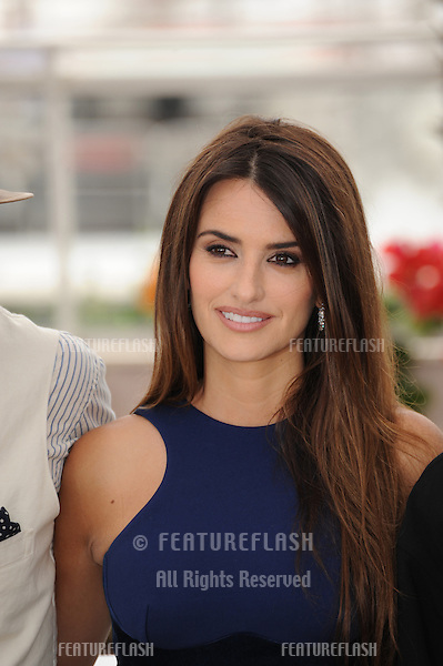 "Penelope Cruz at the photocall for her movie ""Pirates of the Caribbean: On Stranger Tides"" at the 64th Festival de Cannes..May 14, 2011  Cannes, France.Picture: Paul Smith / Featureflash"