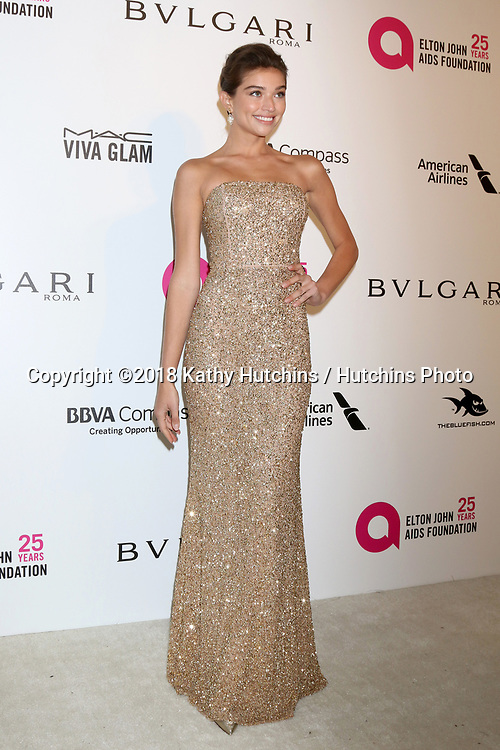 LOS ANGELES - MAR 4:  Daniella Lopez Osorio at the 2018 Elton John AIDS Foundation Oscar Viewing Party at the West Hollywood Park on March 4, 2018 in West Hollywood, CA