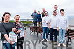 Relish Ballybunion: Pictured to announce the upcoming Relish Ballybunion Food Trail on 4th, 5th & 6th October are Grainne Toomey,Fiona O'Callaghan, Enrique Fernandez, Daniel O'Brien & Ismaael Castillejo. Back : Derek Nagle, Conor Liston, Padraig Hanrahan & Greg Ryan.
