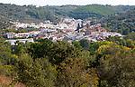 Village of Galaroza, Sierra de Aracena, Huelva province, Spain