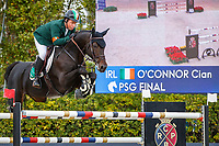 IRL-Cian O'Connor rides PSG Final during the Longines FEI Nations Cup Jumping - Final Competition. CSIO Barcelona. Reial Club de Polo de Barcelona. Spain. Sunday 6 October. Copyright Photo: Libby Law Photography