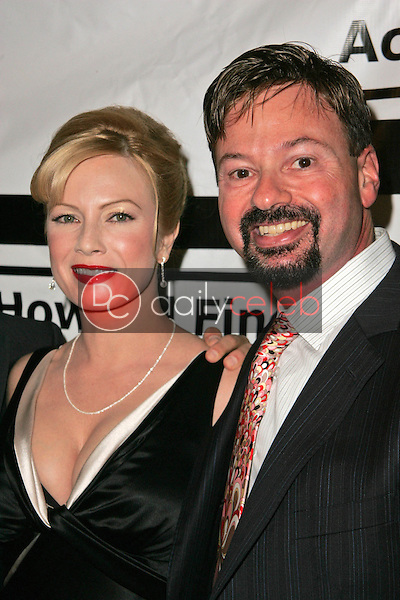Traci Lords and Howard Fine<br />at Howard Fine's Ball of Fire. Boardners, Hollywood, CA. 12-07-06<br />Dave Edwards/DailyCeleb.com 818-249-4998