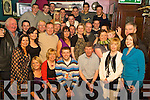 Birthday Boy - Kevin Cunningham from Kerin's Park, seated centre having a ball with friends and family at his 30th birthday bash held in The Greyhound Bar on Sunday night.................................................................................................................................................. ............