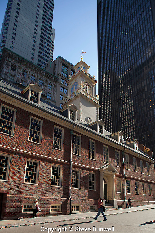 The Old State House, State Street, Boston, MA