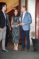 Nils Jürgens,, Catherine, Herzogin von Cambridge und Prinz William beim Besuch der britischen Royals im Tanzlokal und Restaurant Clärchens Ballhaus. Berlin, 20.07.2017
