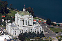 aerial photograph Alameda courthouse Oakland, California