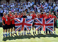 150719 Davis Cup Tennis Great Britain v France Day 3