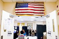 Voting Booth.  180 Mott Street.  Mott Street Senior Center.